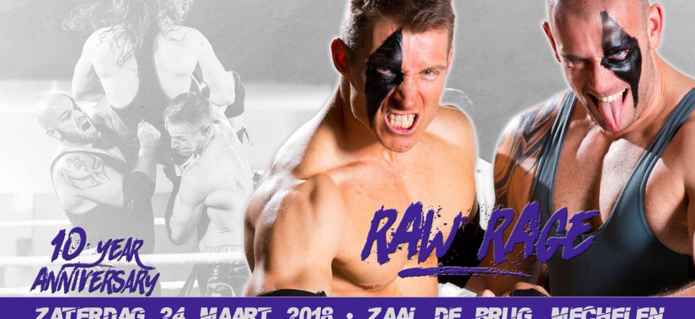 Rob Raw & Rex Rage komen naar Mechelen
