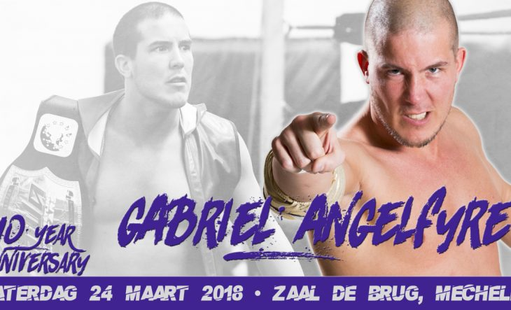 Gabriel Angelfyre word geëerd in de PWA Hall of Fame