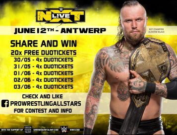 Win 20x WWE NXT Live Duotickets