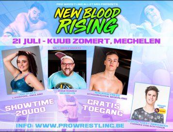 Pro Wrestling Allstars LIVE tijdens Kuub Zomert in Mechelen