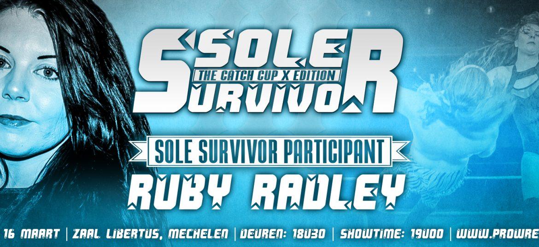 Sole Survivor III deelnemer: Ruby Radley