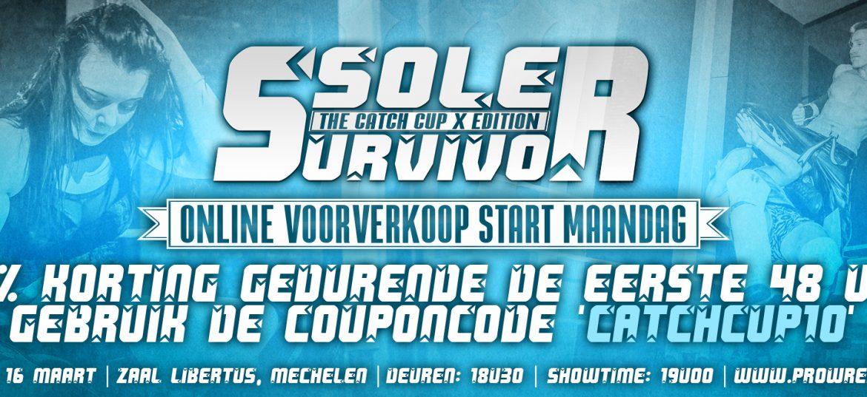 Online ticketverkoop Sole Survivor III start maandag