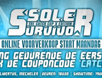 Online ticketverkoop Sole Survivor III start maandag