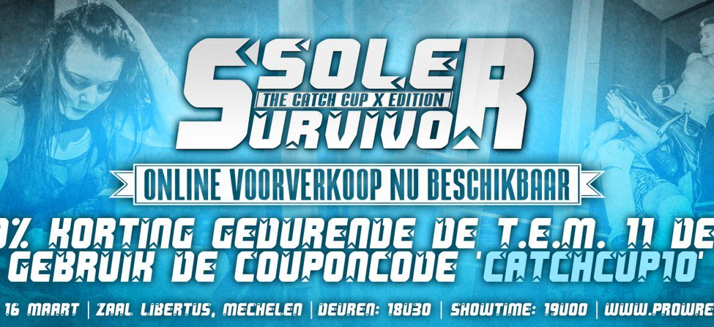 Online voorverkoop Sole Survivor III gestart!