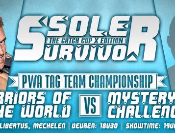 Zelfzekere Tag Team kampioenen klaar voor een uitdaging