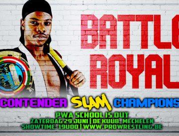 Battle Royal zal bepalen wie de nieuwe #1 contender word voor het SLAM! kampioenschap