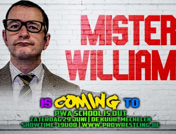 Mr. Williams leid de Student Union naar Mechelen