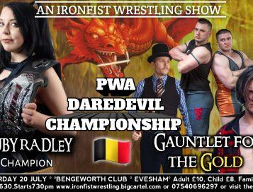 Ruby Radley verdedigd DareDevil titel bij Ironfist Wrestling