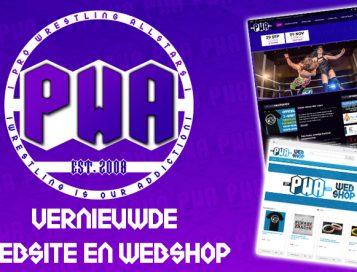 Vernieuwde website en webshop