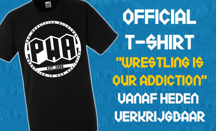 NIEUW: Official PWA T-Shirt