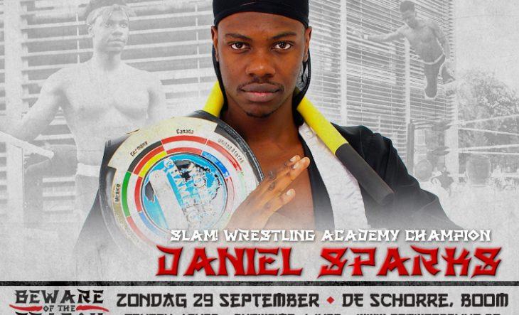 Daniel Sparks verdedigd SLAM! titel tijdens Beware of the Dragon