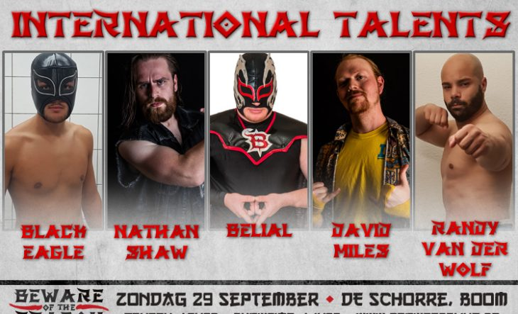 Internationale talenten komen naar Beware of the Dragon