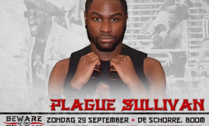 Plague Sullivan klaar voor eerste singleswedstrijd