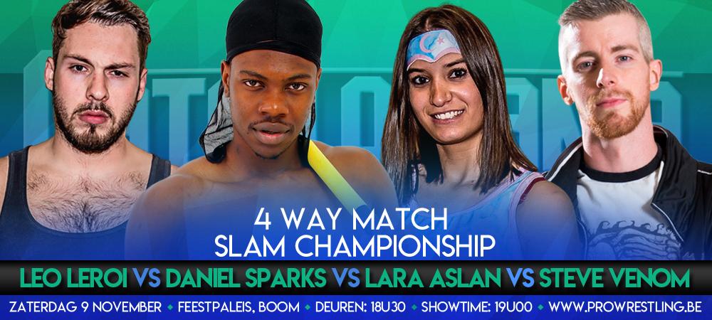 Deelnemers voor SLAM! titelwedstrijd zijn bekend