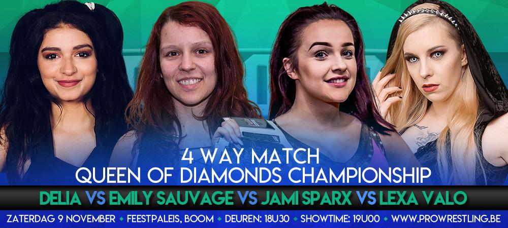 Internationale 4 Way voor Queen of Diamonds kampioenschap