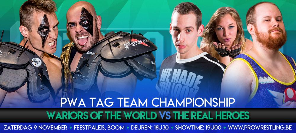 Tag Team titels op het spel tijdens CatchORama