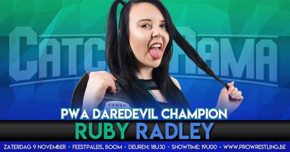 Ruby Radley verdedigd DareDevil kampioenschap bij CatchORama