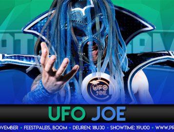 UFO Joe land in de Allstars ring bij CatchORama