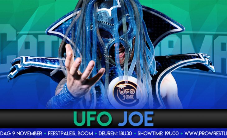 UFO Joe land in de Allstars ring bij CatchORama
