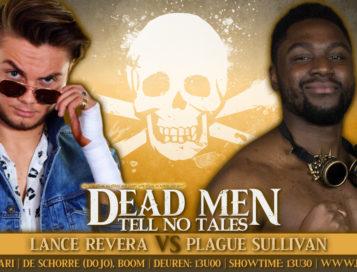 Lance Revera treft Plague Sullivan voor één op één wedstrijd