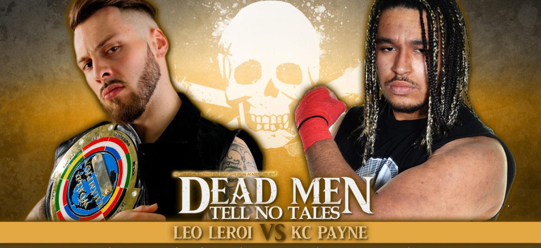 Leo Leroi verdedigt SLAM! kampioenschap tegen KC Payne