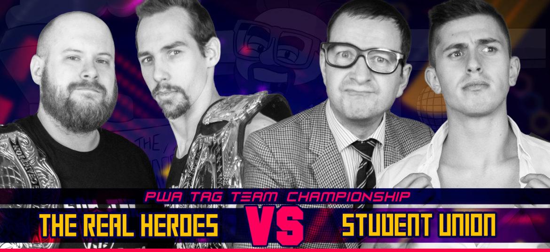 Real Heroes verdedigen het goud tegen Student Union