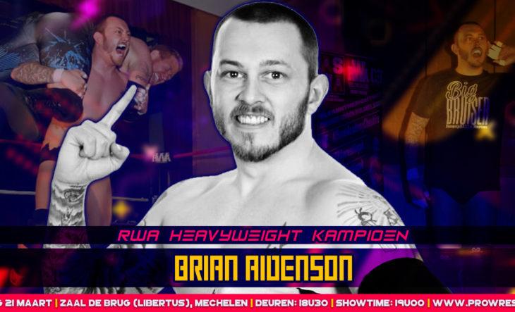 Gloednieuwe RWA Heavyweight kampioen komt naar België