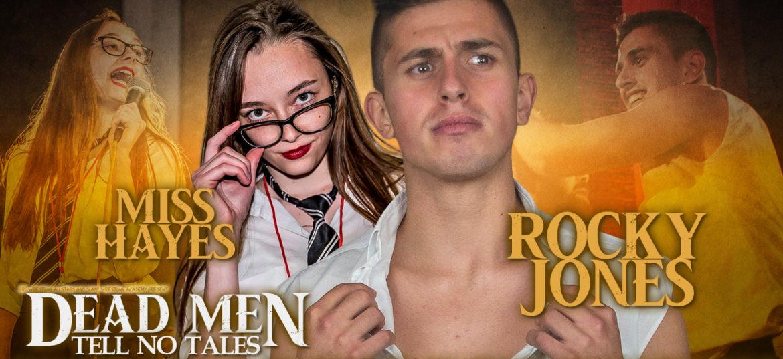 Rocky Jones verdedigt de eer van de Student Union