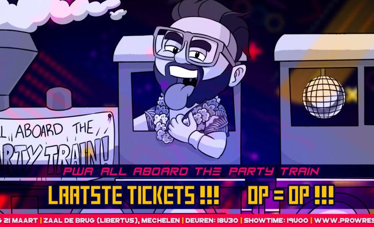Laatste Tickets!! Op = Op!!