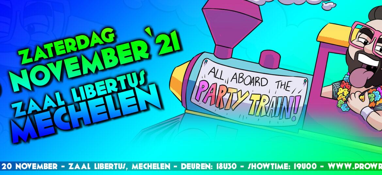 PWA All Aboard The Party Train – Zat. 20 November '21
