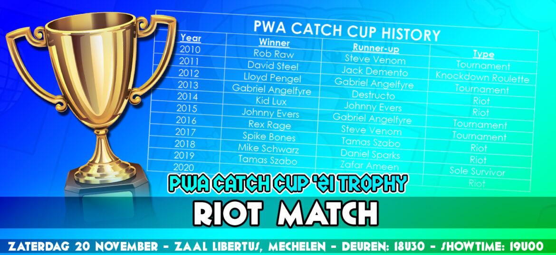 Wie wint de Catch Cup '21 in Mechelen?