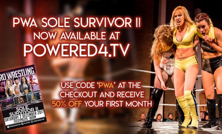 Sole Survivor II nu verkrijgbaar via Powered4TV